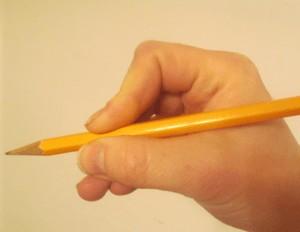 مسكة القلم