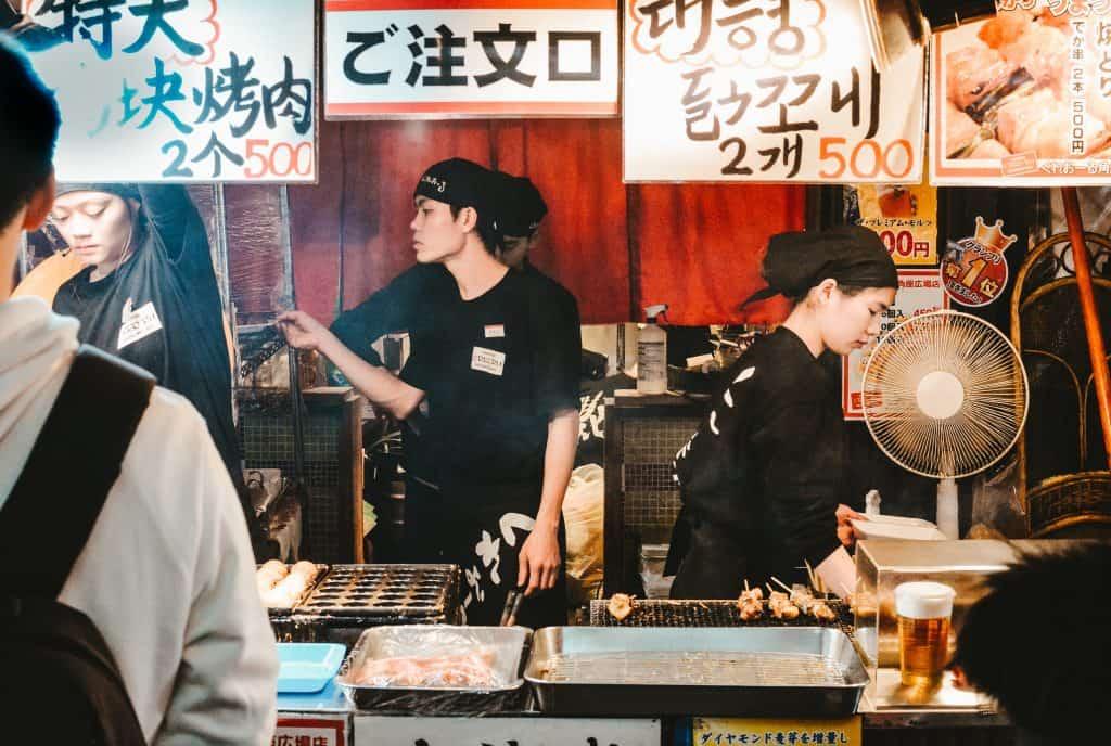 كشك طعام - اليابان