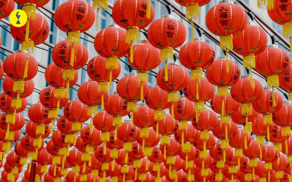 احتفالات السنة الصينية